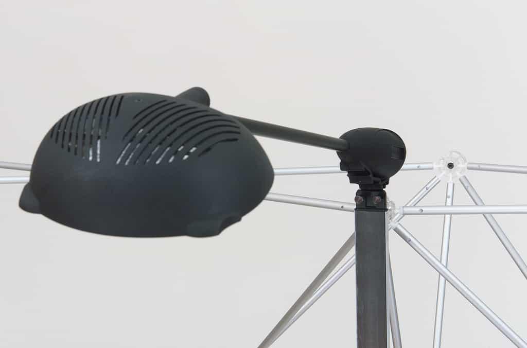 Stand parapluie blue structures panneaux autobloquante for Montage stand parapluie