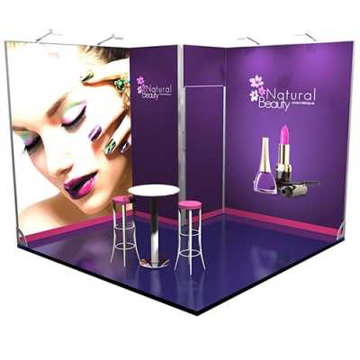 Stand modulaire nombreuses configurations prix r duit for Prix stand salon