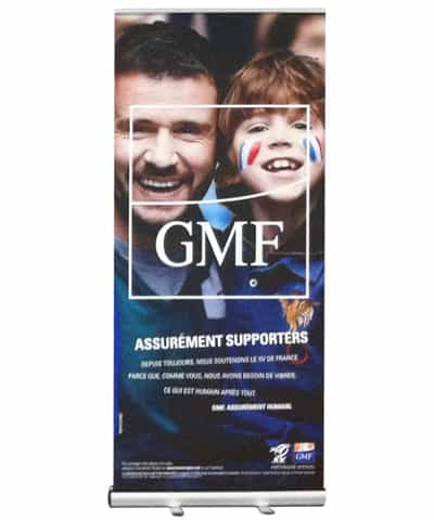 Impression Roll up grand format
